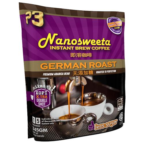 P3 Qocoa Chocolate Malt Drink Nanosweeta Coffee German