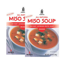 Takikomi Wakame, Furikake, Panko Breadcrumbs, Instant Miso Soup