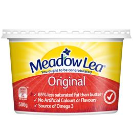 Meadowlea Canola 1kg, Meadowlea Original 1kg, Meadowlea Salt Reduced