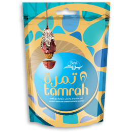 Gift Box Caramel Chocolate Covered Date with Almond 310gm