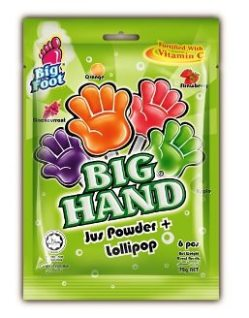 Big Hand Jus Powder + Lollipop
