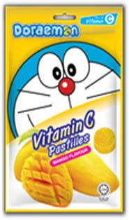 Doraemon Vitamin C Pastille- Mango