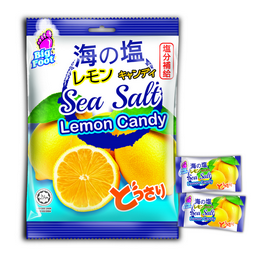 Big Foot Sea Salt Lemon Candy