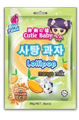 Cutie Baby Lollipop Mango Milk
