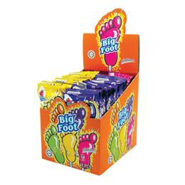 Big Foot Soda Powder + Lollipop (Box)