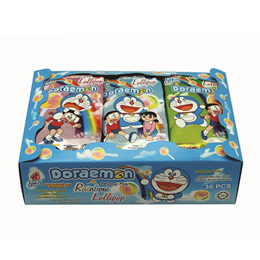 Big Foot Rainbow Lollipop (Doraemon)