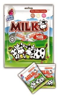 Milko Mini Bites Candy - Milk