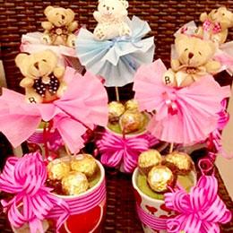 Bear Chocolate Mug Gift